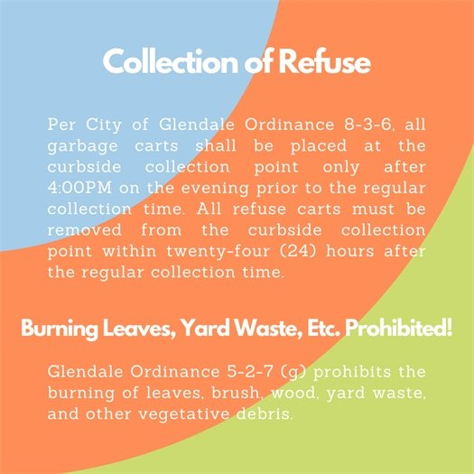 Collection of Refuse